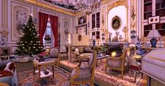 Des nobles (亗 Duchesse de Valentinois 亗) Tags: second life serenya burnstein christmas noel classy luxury chateau paris