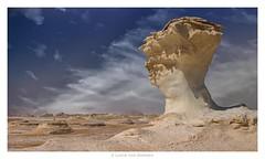 Egypt -white desert Farafra (Lucie van Dongen) Tags: geology scenery outdoor scenic travel desert désert paysage landscape alfarafra whitedesert egypt