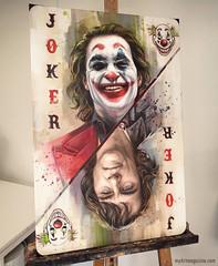 Painting Joker (creativeneel) Tags: art painting oilpainting acrylicpainting