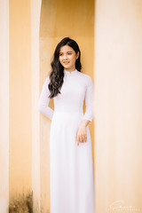 CHOW8227 (Call me CHOW) Tags: happy dress beauty blond female long hair carefree young women wavy fashion model beautiful people portrait ao dai aodai girl hanoi vietnam sunny yearbook smilling smile sunset lookbook pretty posing face