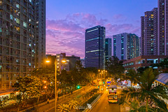 _DSC6094_HDR_LOGO (Ray 'Wolverine' Li) Tags: easterndistrict hongkong asia sunset magicmoment magichour twilight bluehour