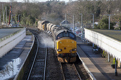 37423 at Woodbridge (tibshelf) Tags: woodbridge class37 drs rhtt 37423