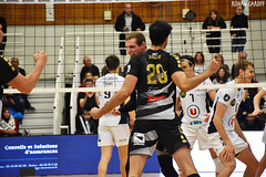DSC_0237 (Ronan Caroff) Tags: sport sports deporte volley volleyball voleibol men man boy garcon indoor france bretagne breizh brittany illeetvilaine 35 rennes roazhon tours liguea nikon d5600 championnat championship colettebesson team équipe effort
