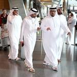 UAE National Team arrives to hamad airport 25-11126