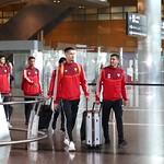 UAE National Team arrives to hamad airport 25-11107