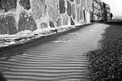 Warnemünde - tiny sandwaves at Western Breakwater (eucalli) Tags: eucalli einfarbig mvp blackwhite blackandwhite bw balticsea baltic monochrome monochrom mecklenburgvorpommern sand shadow schatten contrast kontrast nikon nikondigital nikonfx norddeutschland nikonfxshowcase tamron warnemünde warnemündestrand rostock mecklenburg d810 deutschland germany