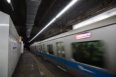 Odakyu 3000 Series Train Passing Temporary Platform at Odakyu Setagaya-daita Station (ykanazawa1999) Tags: 3000series train daita station setagaya tokyo japan