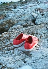 Bali beach shoes (funky_sexy_groovy_marky) Tags: bali halfframe analogue