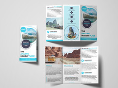 Trifold Brochure (rifat333) Tags: 3 fold a4 advert advertisement advertising agency brochure business clean company consultant corporate creative design financial handout marketing modern multipurpose pamphlet photoshop professional promotion prospectus psd stylish template trifold travel