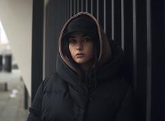 DSC005082 (kolomiichenko.vladyslav) Tags: portrait girl cute street streetphotography sony sonyalpha sonya6000 architecture winter people casual style vintagelens industar61l