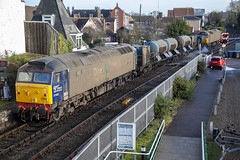 57002 at Woodbridge (tibshelf) Tags: woodbridge class57 drs rhtt 57002