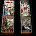 Stained glass windows, Notre-Dame-De-Saint-Roch, Quebec City, Quebec