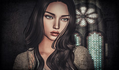 SL (Somoon_N) Tags: secondlife sl avatar slphotography female virtual girl catwa catya beauty face art portrait