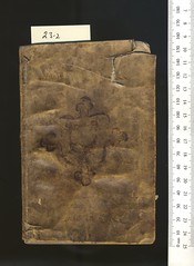 Broxb. 23.2 — Opera noua contemplatiua. (rare.books) Tags: bodleian broxbourne binding ehrman italian 16th vellum