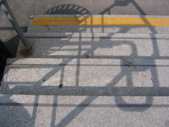 montreal stairs (c thornton) Tags: shadow abstract stairs