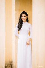 CHOW8230 (Call me CHOW) Tags: happy dress beauty blond female long hair carefree young women wavy fashion model beautiful people portrait ao dai aodai girl hanoi vietnam sunny yearbook smilling smile sunset lookbook pretty posing face