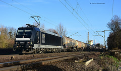 185 563-4 (MRCE) (vsoe) Tags: eisenbahn bahn lok züge güterzug güterzugstrecke gub freighttrain train railway railroad engine deutschland germany niedersachsen hannover winter sonne