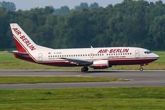 D-AGEB (PlanePixNase) Tags: hamburg ham eddh fuhlsbüttel airport aircraft planespotting boeing 737 b733 737300 733 airberlin