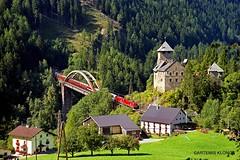 (Artemis & Nikos Klonos) Tags: austria obb br1116 2002 ak electric passengertrain railbridge trisannabruecke