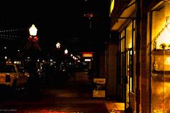 Savannah Night Scene (paulgarf53) Tags: nightphotography savannah georgia topaz topazstudio2 city cityscape nikon d700
