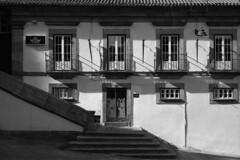 GIN GER (lebre.jaime) Tags: portugal beira guarda architecture traditionalarchitecture analogic film135 ilford fp4 bw blackwhite noiretblanc nb pb pretobranco ptbw leicam3 summicron2050dr epson v600 affinity affinityphoto