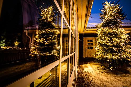 Puijon majan terassi joulukuun ilta 2