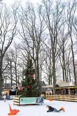 Christmas in Laren. (PeteMartin) Tags: christmas ice laren rink skating tree xmas netherlands