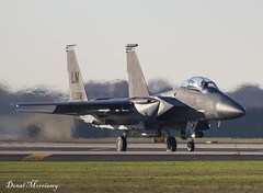 USAF F-15E 91-0308 (birrlad) Tags: lakenheath raf air base force f15 eagle military fighter supersonic attack aircraft aviation airplane airplanes usaf taxi taxiway takeoff departing departure runway training mcdonnell douglas f15e strike 910308 airforce