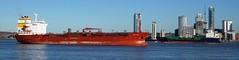 Ships of the Mersey---Songa Topaz & Alcedo (sab89) Tags: river mersey shipping ships ship wirral estuary irish sea liverpool