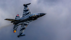 F-16 Fighting Falcon (stu1406) Tags: f16 fighting falcon fighter jet aircraft viper raffairford riat july 2019 belgianairforce srcptstefandarte vador arshow display unitedkingdom uk england