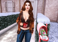 Mail Time (EnviouSLAY) Tags: winter mail decor rare gachas red hair belt long pattern stripes longhair jeans mug denim cardigan props lemme teabunny new beauty riot makeup blueberry lipstick eyeshadow doux releases newreleases colivati colivatibeauty equal10 classic mens bento legacy department genus the tmd themensdepartment monthlyevent fameshed monthlyfair monthlyfashion life gay male fashion female mailbox photography fair blogger pale event secondlife lgbt second monthly