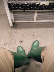 Berlin Underground (northseaboy) Tags: gummistiefel gummistövlar wellingtons wellies wellingtonboots century hunter gayrubber rain rainwear rubberboots rubber