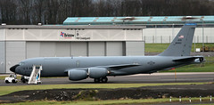 58-0050 (PrestwickAirportPhotography) Tags: egpk prestwick airport usaf united states air force boeing kc135t stratotanker 580050 macdill mobility command