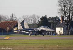 USAF F-15E 91-0316 (birrlad) Tags: lakenheath raf air base force f15 eagle military fighter supersonic attack aircraft aviation airplane airplanes usaf taxi taxiway takeoff departing departure runway training airforce f15e 910316