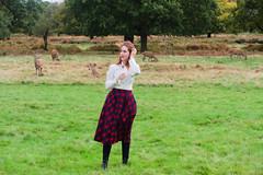 Shooting Casual - Marëwella - Richmond Park -2019-10-25- P1844989 (styeb) Tags: shoot shooting casual richmondpark england london 2019 octobre 25 xml retouche modelmarëwella