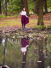 Shooting Casual - Marëwella - Richmond Park -2019-10-25- P1844947 (styeb) Tags: shoot shooting casual richmondpark england london 2019 octobre 25 xml retouche modelmarëwella