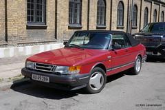 1987' SAAB 900 Turbo Cabriolet (Kim-B10M) Tags: au49289 900 saab