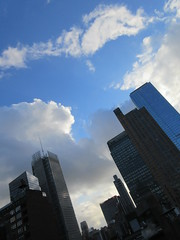 2019 December Post Snow Clouds Sky 1969 (Brechtbug) Tags: 2019 december post snow clouds virtual clock tower on from hells kitchen clinton near times square broadway nyc 12112019 new york city midtown manhattan winter wintertime weather building dark low hanging cumulonimbus cumulus nimbus cloud hell s nemo southern view