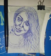 Mírame... Pequeños dibujos a pluma estilográfica. . . #portrait #drawing #art #draw #painting #buonanotte #plumaestilografica #blue #artist#dibujos #tinta #sketch #flickr #artlovers #painter #artsharing #artstagram #woman #portrait#ink#buenasnoches (egc2607) Tags: blue ink sketch disegno tinta goodnight instagram tattoo art plumaestilografica artdaily dibujosapluma artlovers bellezza artist painter painting artsharing drawing buenasnoches hairstyle fanart buonanotte beautifulgirl dibujos portrait woman artstagram draw