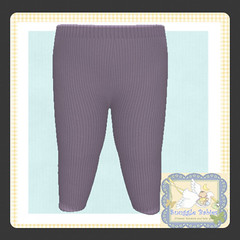 display legging ribbed purple (Snuggle Animesh Clothes) Tags: second life zooby animesh baby snuggle clothes dress