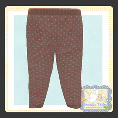 display legging peach dot (Snuggle Animesh Clothes) Tags: second life zooby animesh baby snuggle clothes dress