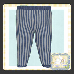 display legging blue stripe (Snuggle Animesh Clothes) Tags: second life zooby animesh baby snuggle clothes dress