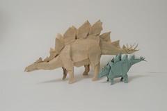 Stegosaurus 2019 (shuki.kato) Tags: stegosaurus origami paper fold shuki kato dinosaur
