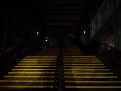 Mayfield Depot tour 9/12/2019 (stillunusual) Tags: mayfield mayfieldstation mayfielddepot stairs staircase manchester evening night dark mcr city england uk 2019