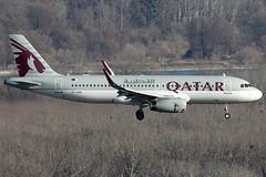 Qatar Airways Airbus 320-232 A7-AHS (c/n 5010) (Manfred Saitz) Tags: vienna airport schwechat vie loww flughafen wien qatar airways airbus 320 a320 a7ahs a7reg