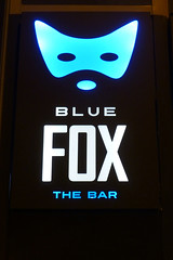 Blue Fox, Budapest. (piktaker) Tags: budapest hungary pub bar tavern pubsign barsign publicbar bluefox