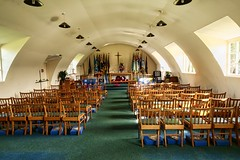 RAF Memorial Chapel (Keith Coldron) Tags: chapel standards nissannut seats peaceful