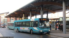Arriva Buses Wales Wrightbus VDL Cadet CX54 DLK 2503 - Chester (Efan Thomas Bus Spotting Photography) Tags: arriva buses wales wrightbus vdl sb120 cadet cx54dlk 2503