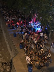 Budapest Night Life (Happy_Hiking2) Tags: party music carnival budapest people dancing streetmusician