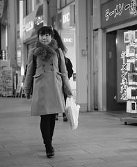 In the mall (Bill Morgan) Tags: fujifilm fuji xpro3 35mm f14 bw exposurex5 jpeg